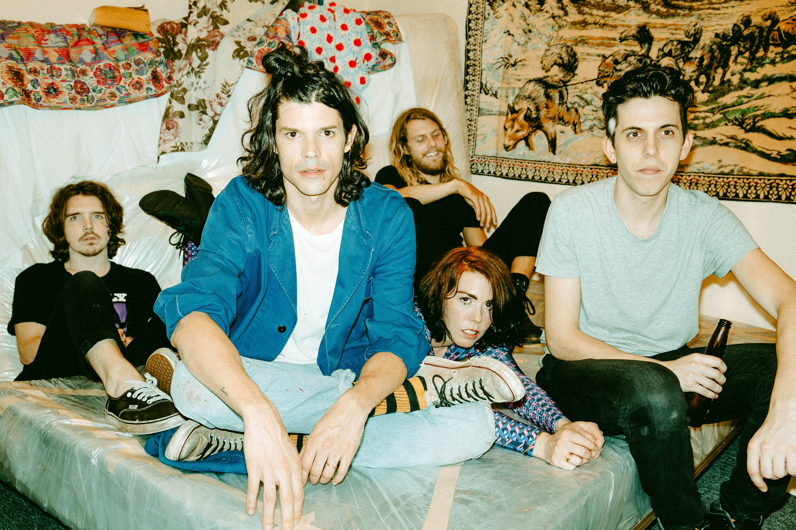 Talking Music, Art, and Life - Grouplove Interview Jane Hoschke Leiden