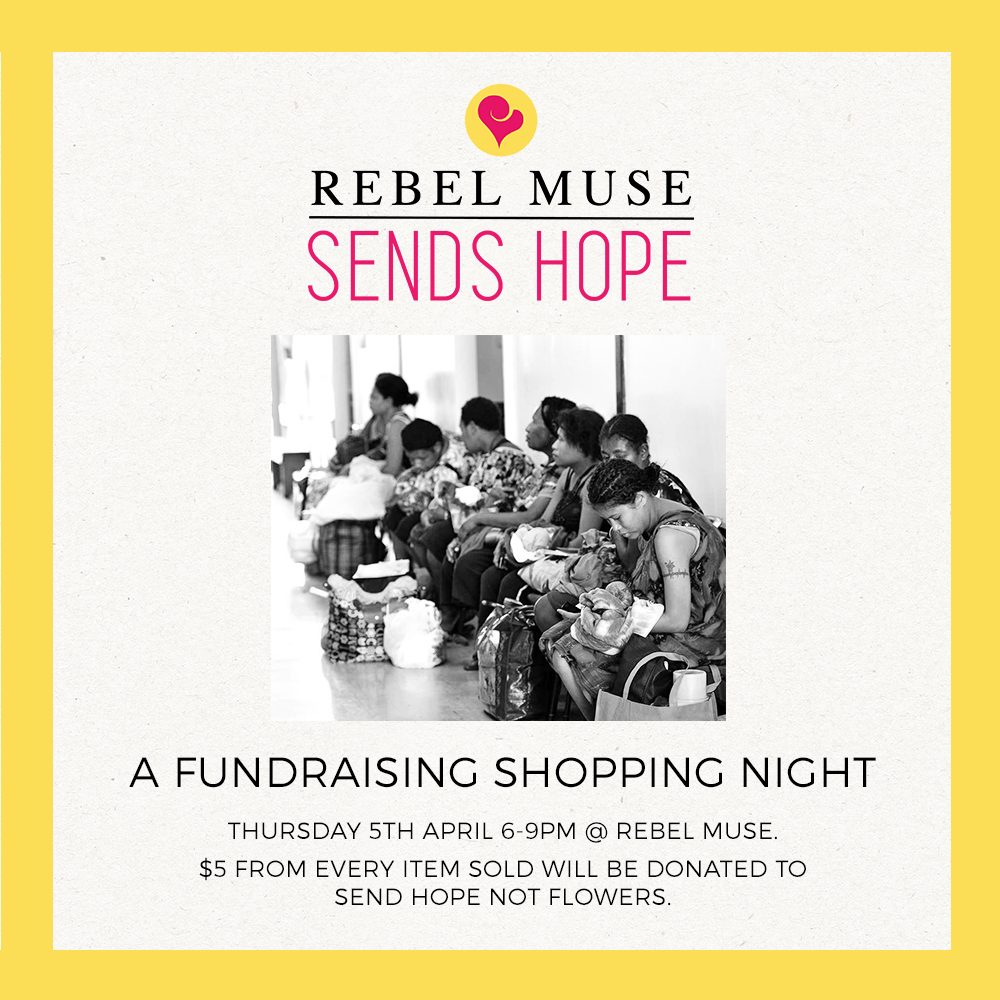 Rebel Muse Sends Hope
