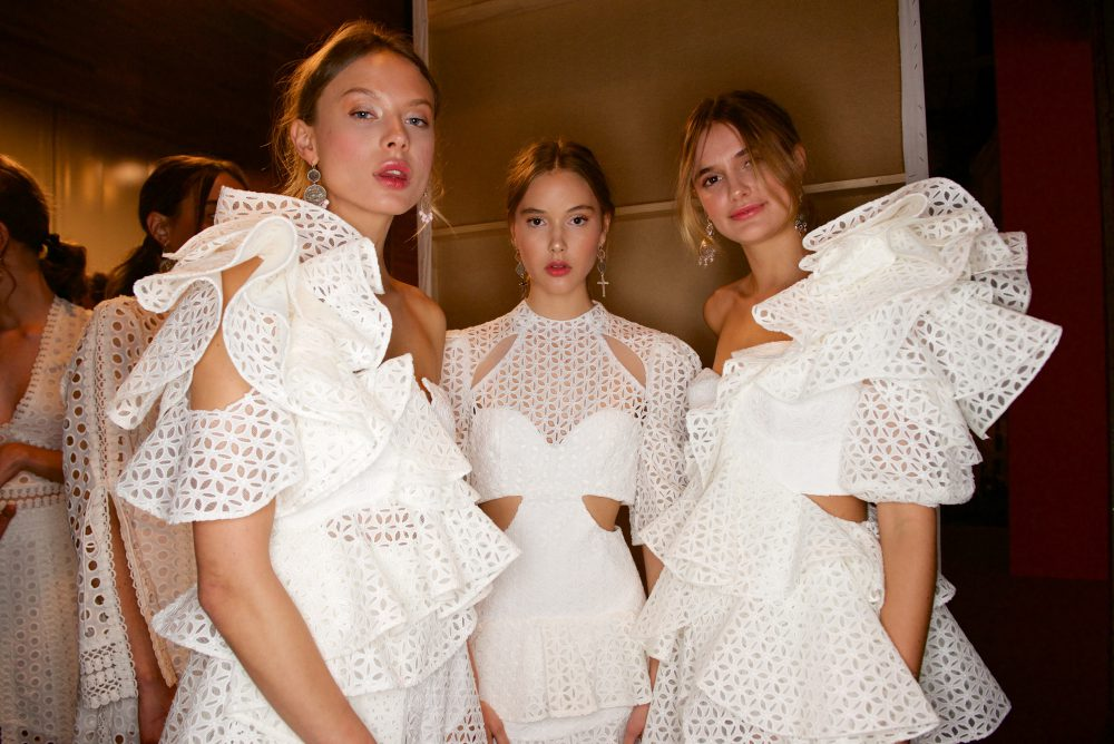 backstage at Thurley