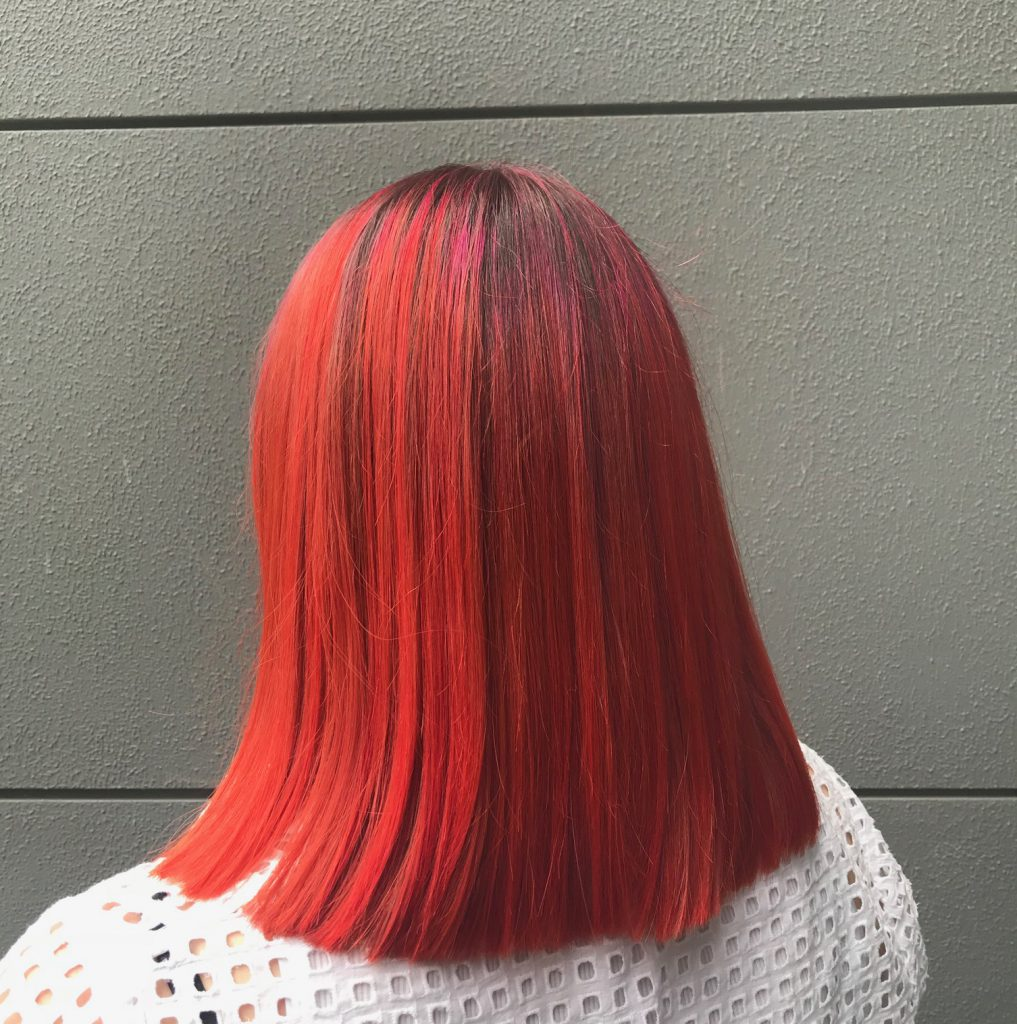 Hair colour and identity