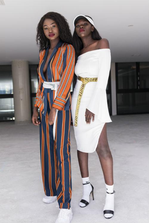 stylist Sarafina Manyang