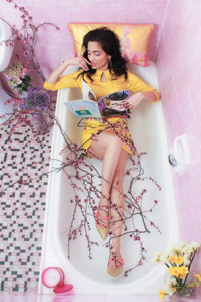 Into the Bath - A Leiden Creative Editorial